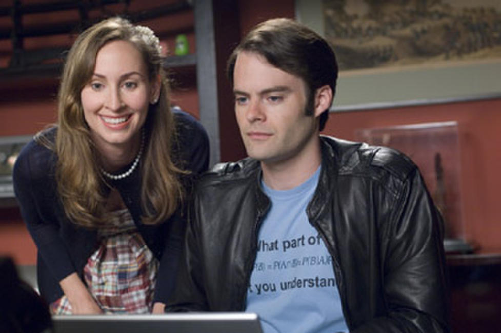Liz Cackowski and Bill Hader in